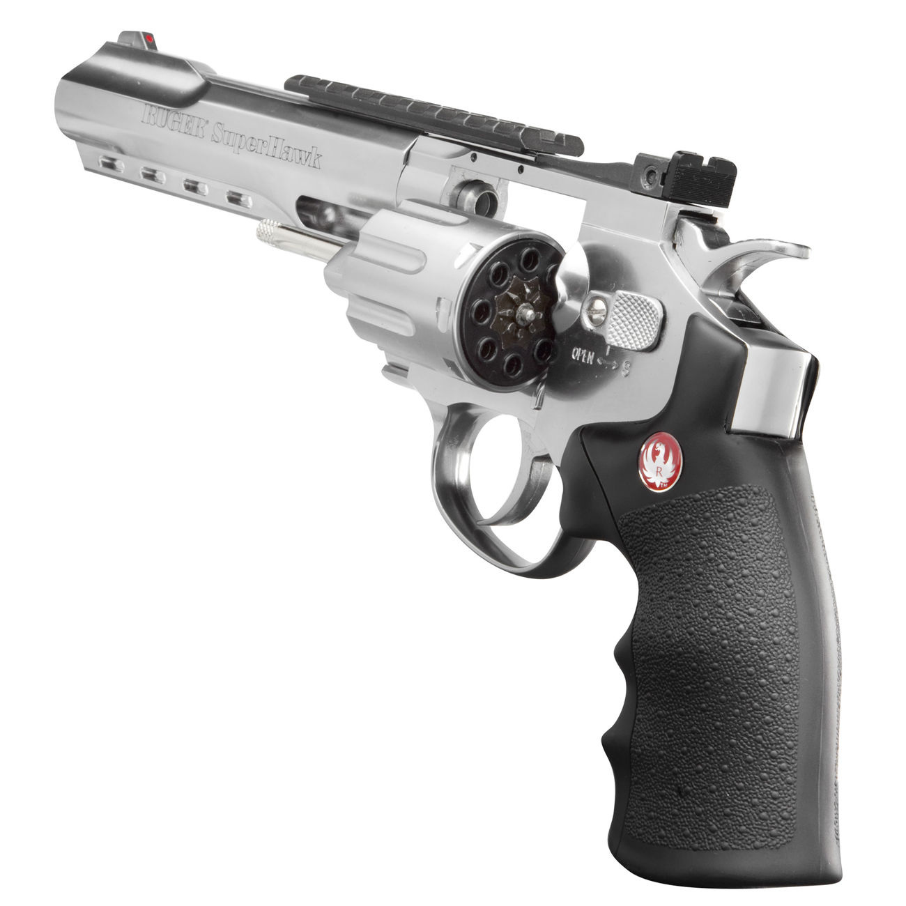 Ruger Super Hawk 6 Zoll 6mm BB CO2 Revolver chrom 3