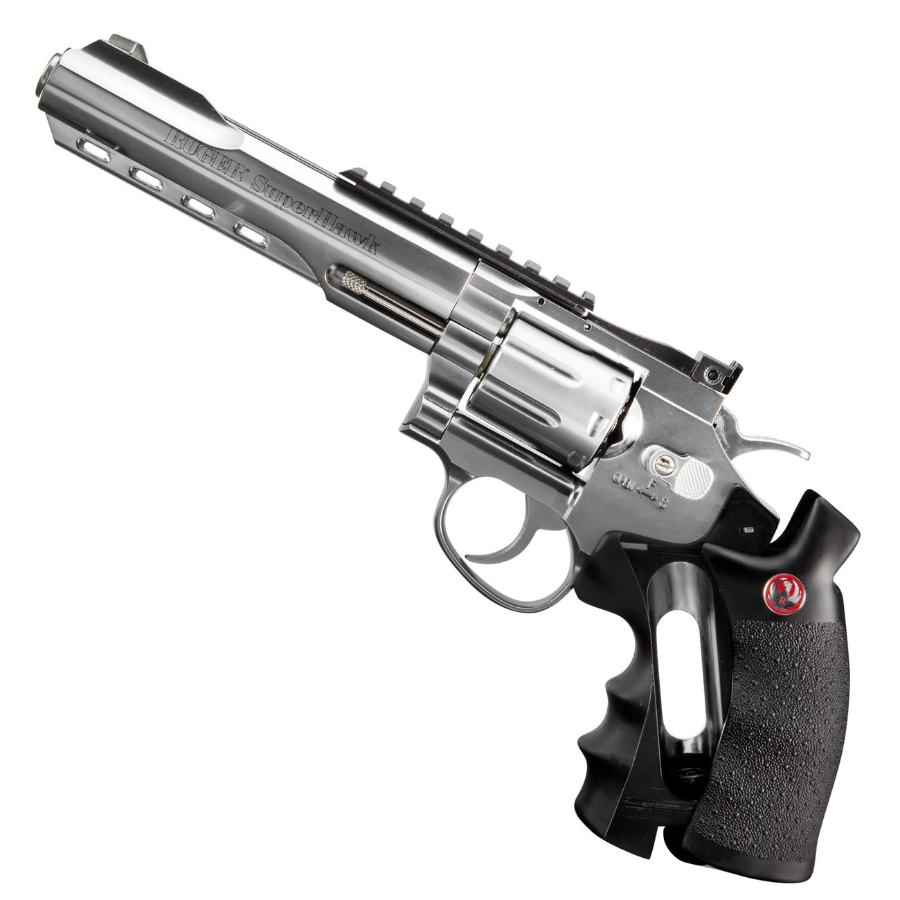 Ruger Super Hawk 6 Zoll 6mm BB CO2 Revolver chrom 4