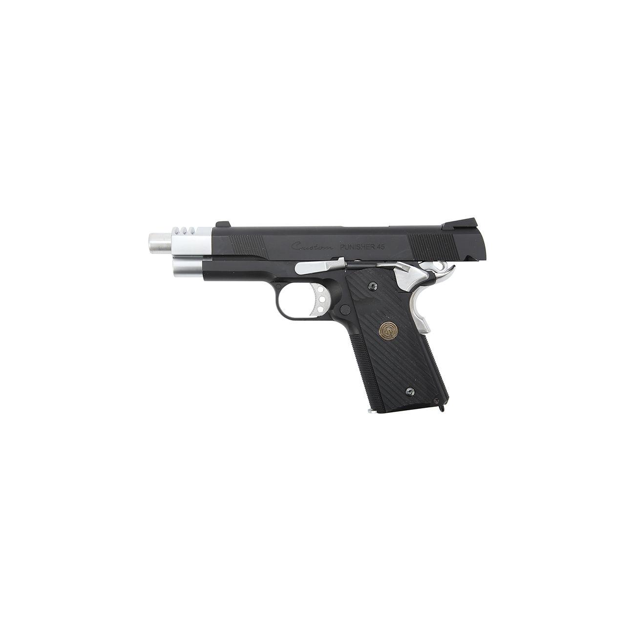 Socom Gear Punisher 1911 Vollmetall GBB inkl  Pistolenkoffer