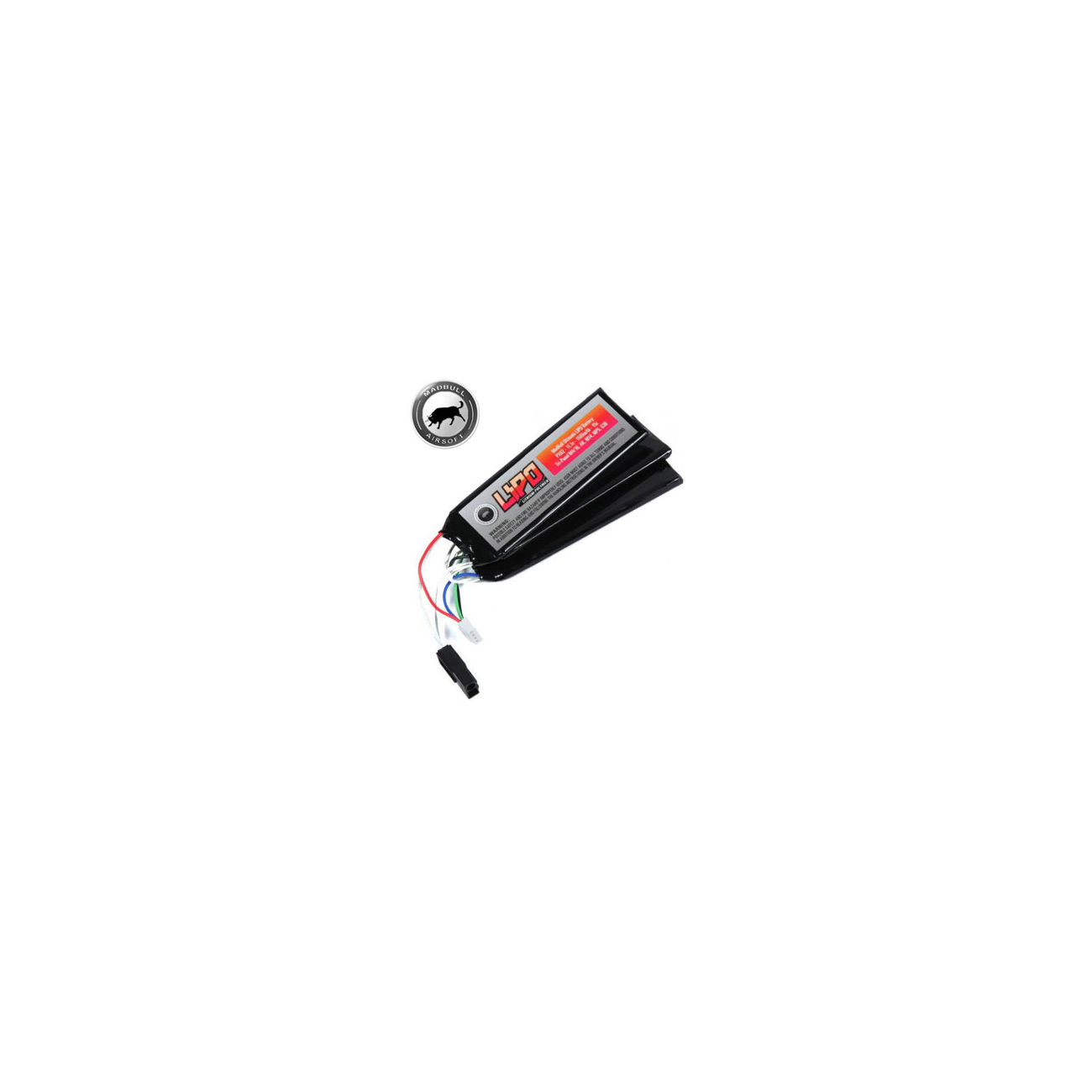 MadBull Ultimate LiPo Akku 11,1V 1500mAh 15C Tri-Panel Version 0