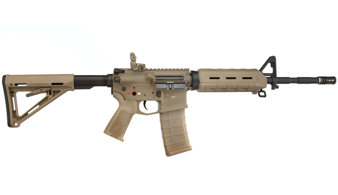 G&P MagPul MOE Carbine Vollmetall S-AEG 6mm BB Dark Earth Tan 2