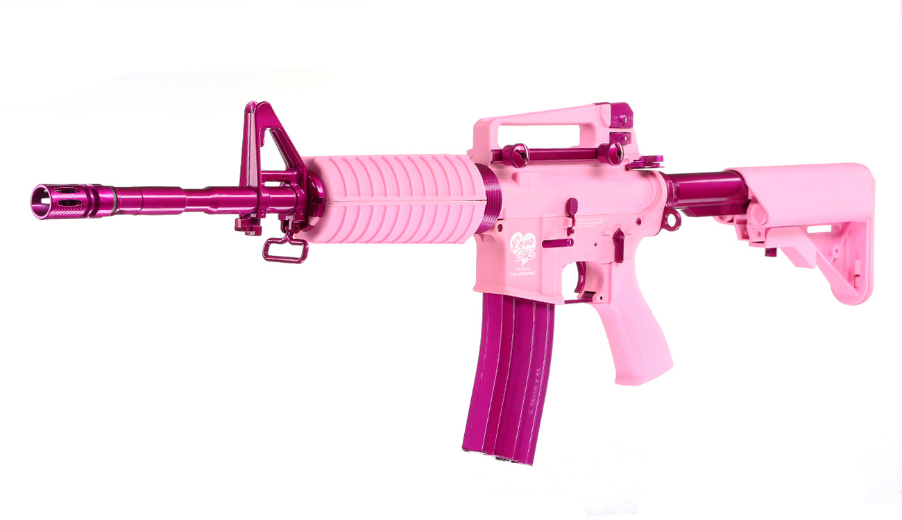 G&G CM16 Femme Fatale 16 S-AEG Pink Edition 0