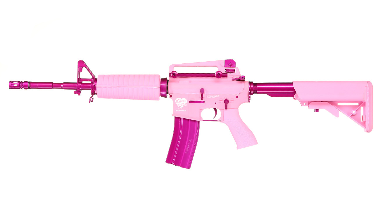 G&G CM16 Femme Fatale 16 S-AEG Pink Edition 1