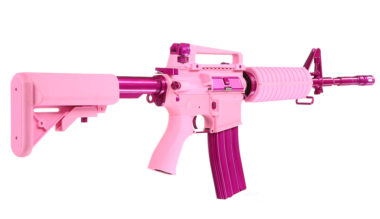 G&G CM16 Femme Fatale 16 S-AEG Pink Edition 3