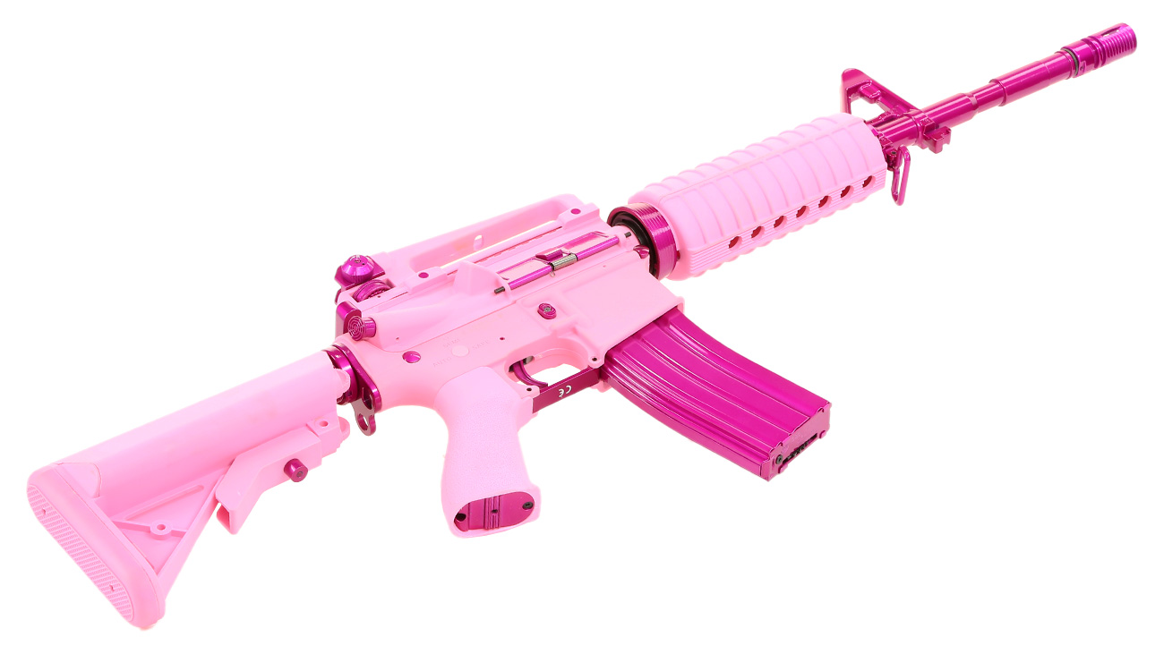 G&G CM16 Femme Fatale 16 S-AEG Pink Edition 4