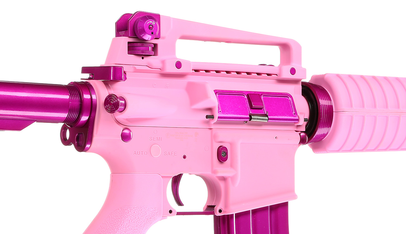 G&G CM16 Femme Fatale 16 S-AEG Pink Edition 8