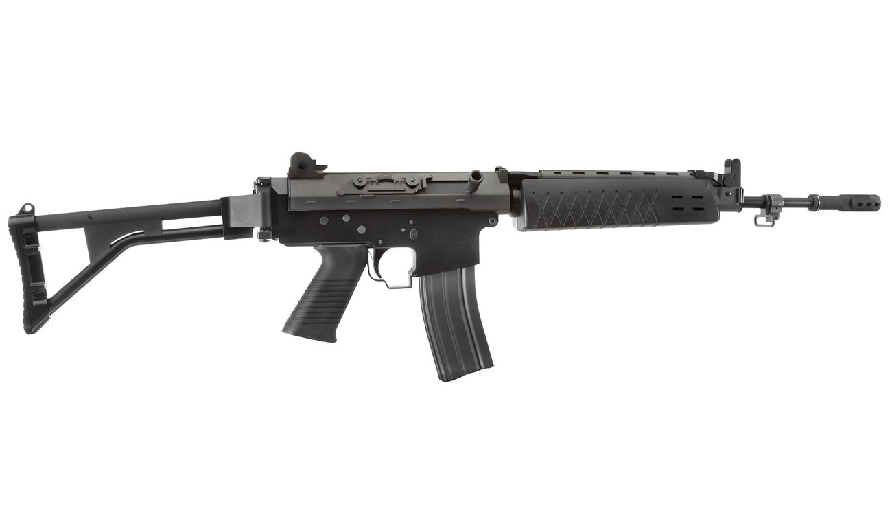 G&G GF85 Long-Type Vollmetall S-AEG 6mm BB schwarz 2