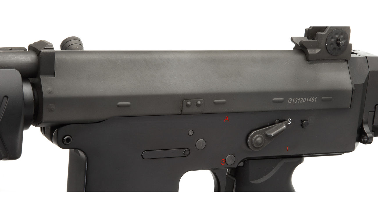 G&G GF85 Long-Type Vollmetall S-AEG 6mm BB schwarz 5
