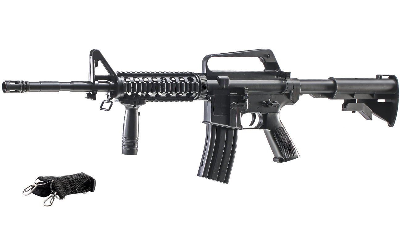 Well M16A4 R.I.S. Springer Softair 6mm BB 0