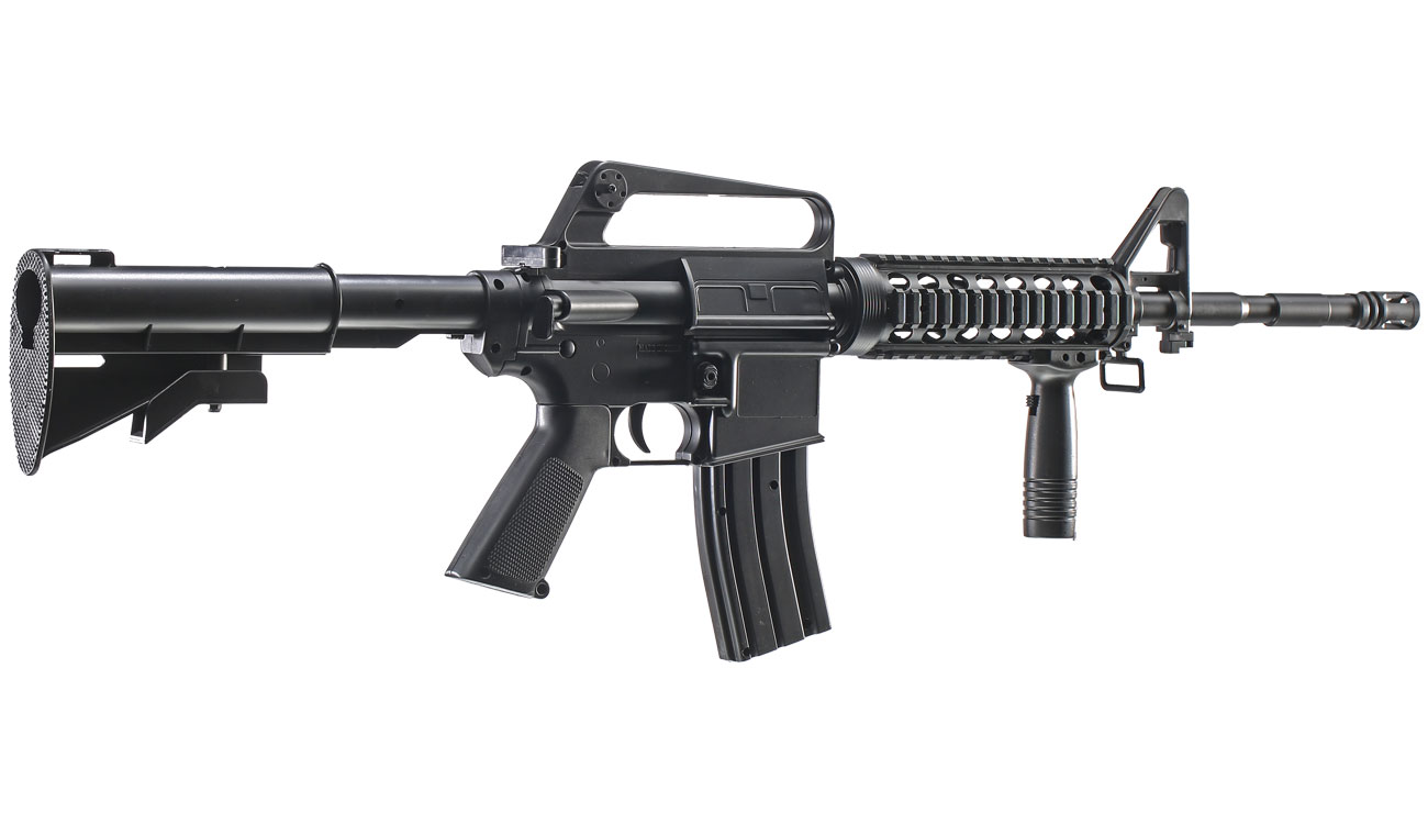 Well M16A4 R.I.S. Springer Softair 6mm BB 3
