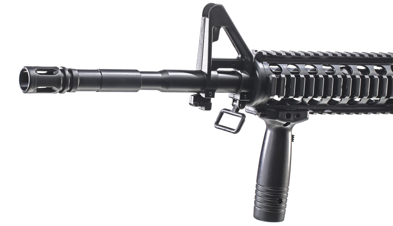 Well M16A4 R.I.S. Springer Softair 6mm BB 5