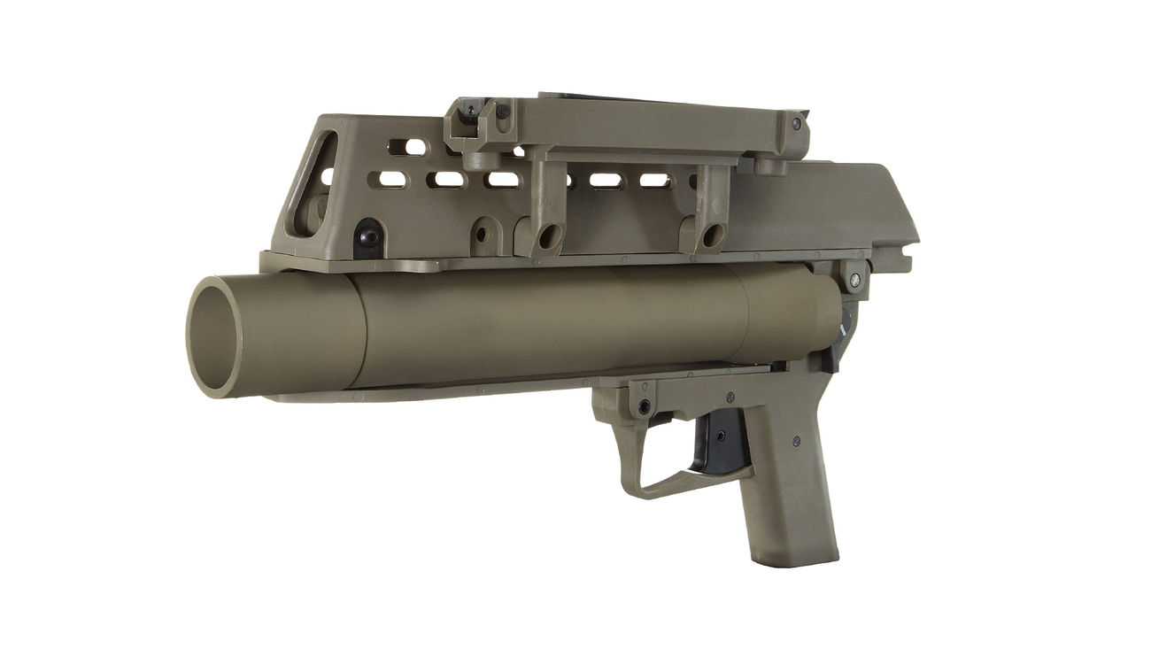 S&T AG36 40mm Granatwerfer Dark Earth Tan 0