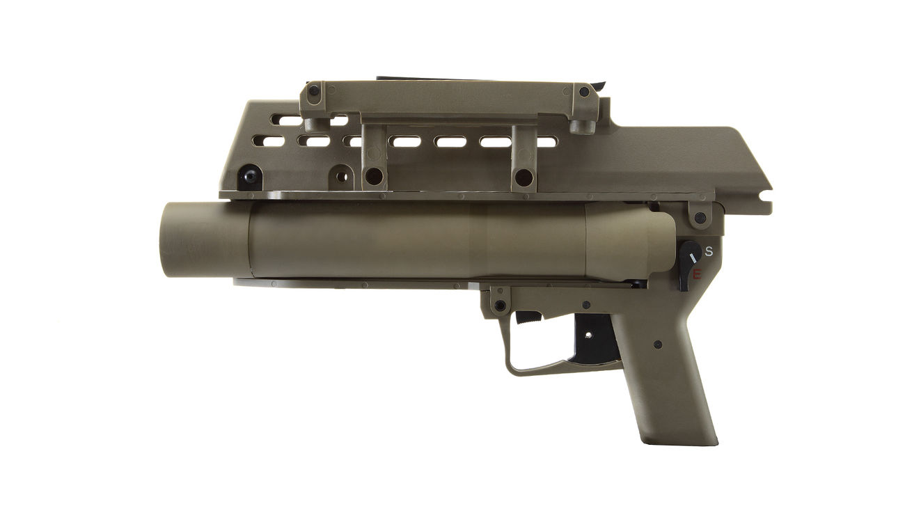 S&T AG36 40mm Granatwerfer Dark Earth Tan 1