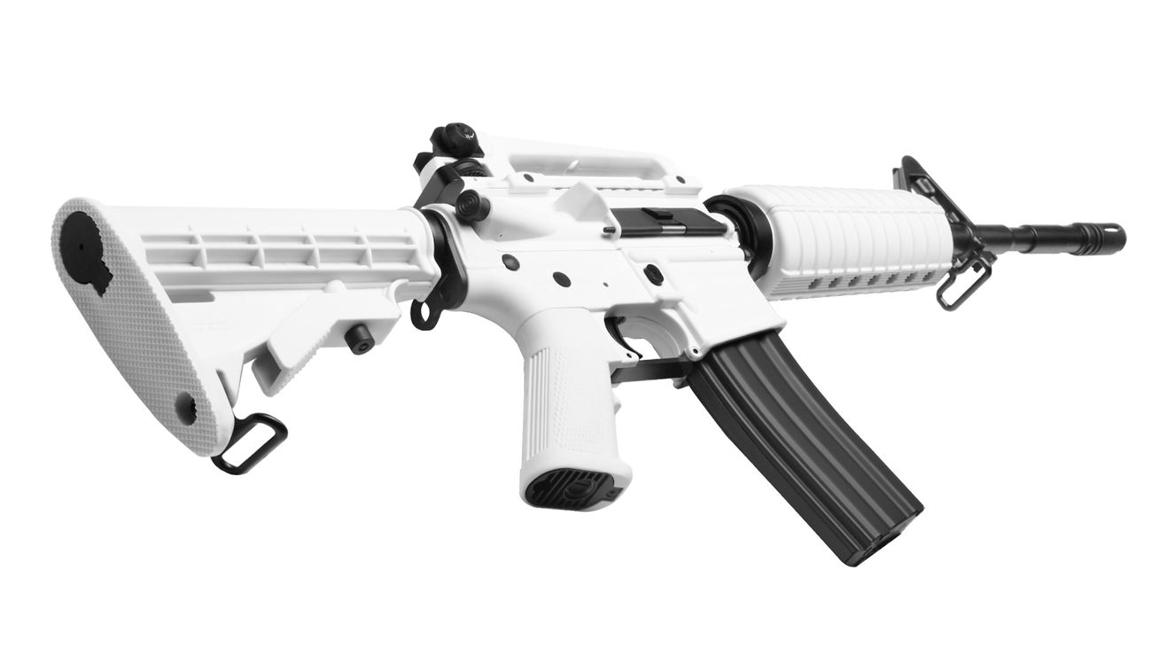 G&G Chione 16 Blowback S-AEG Softair White Special Edition 3