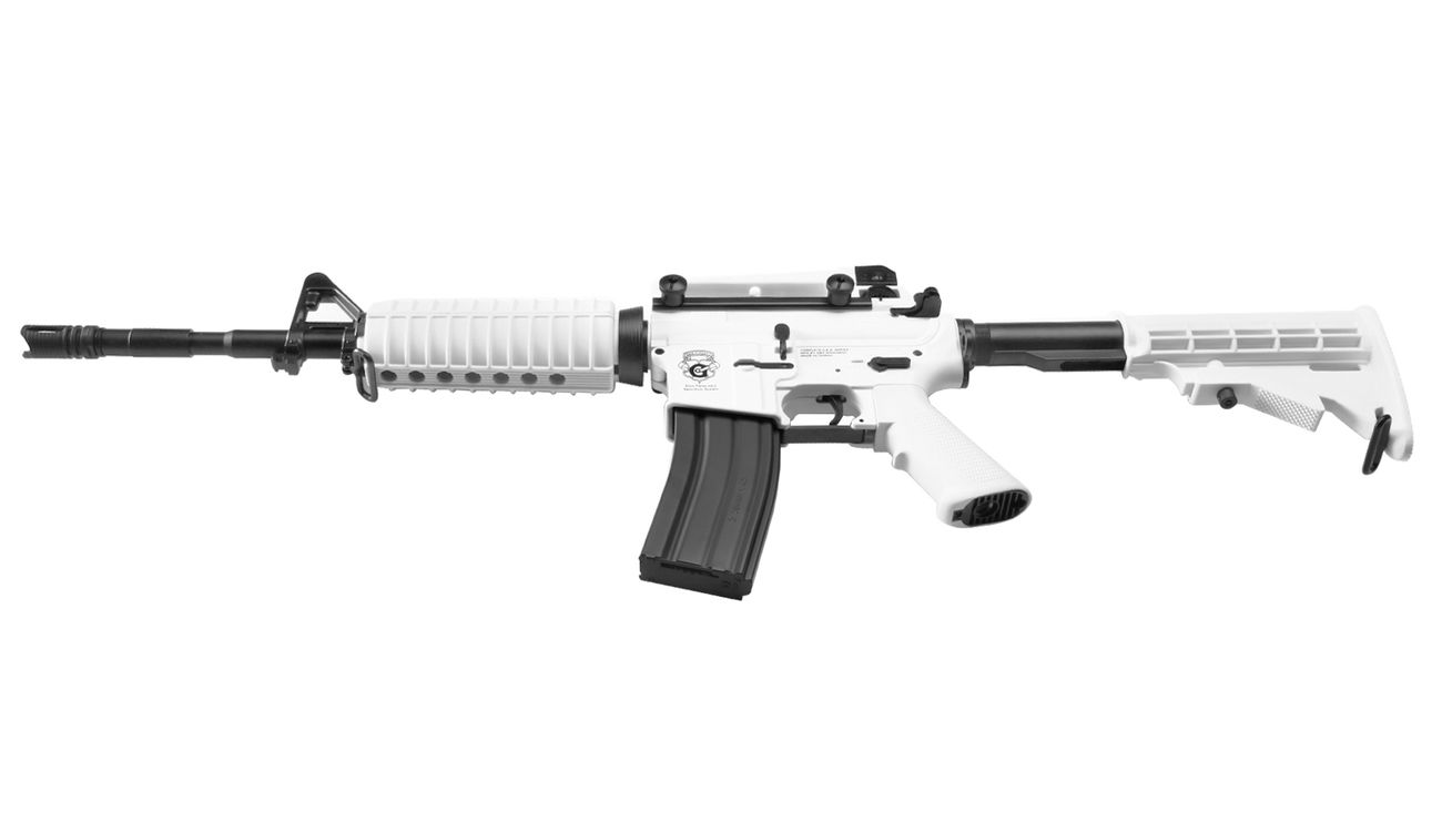 G&G Chione 16 Blowback S-AEG Softair White Special Edition 7