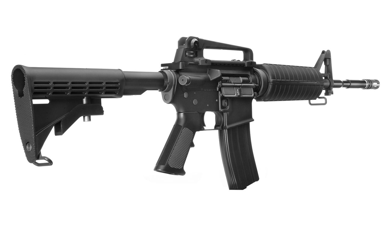 Socom Gear M4A1 Carbine Vollmetall AWSS Open-Bolt Gas-Blow-Back 6mm BB schwarz 3