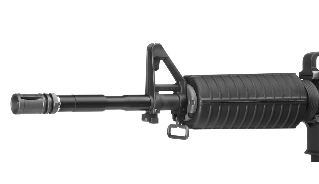 Socom Gear M4A1 Carbine Vollmetall AWSS Open-Bolt Gas-Blow-Back 6mm BB schwarz 5