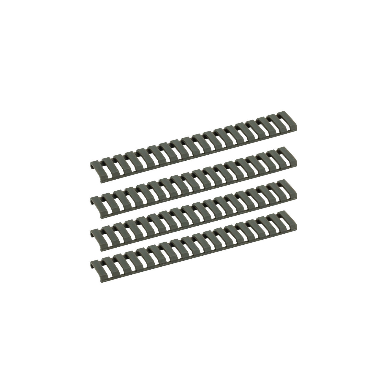 G&G Ladder Rail Cover 178mm 4er Set - OD 0