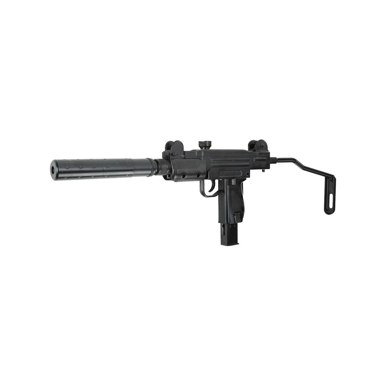 Umarex IWI Mini UZI mit Silencer CO2 Blowback 6mm BB ...