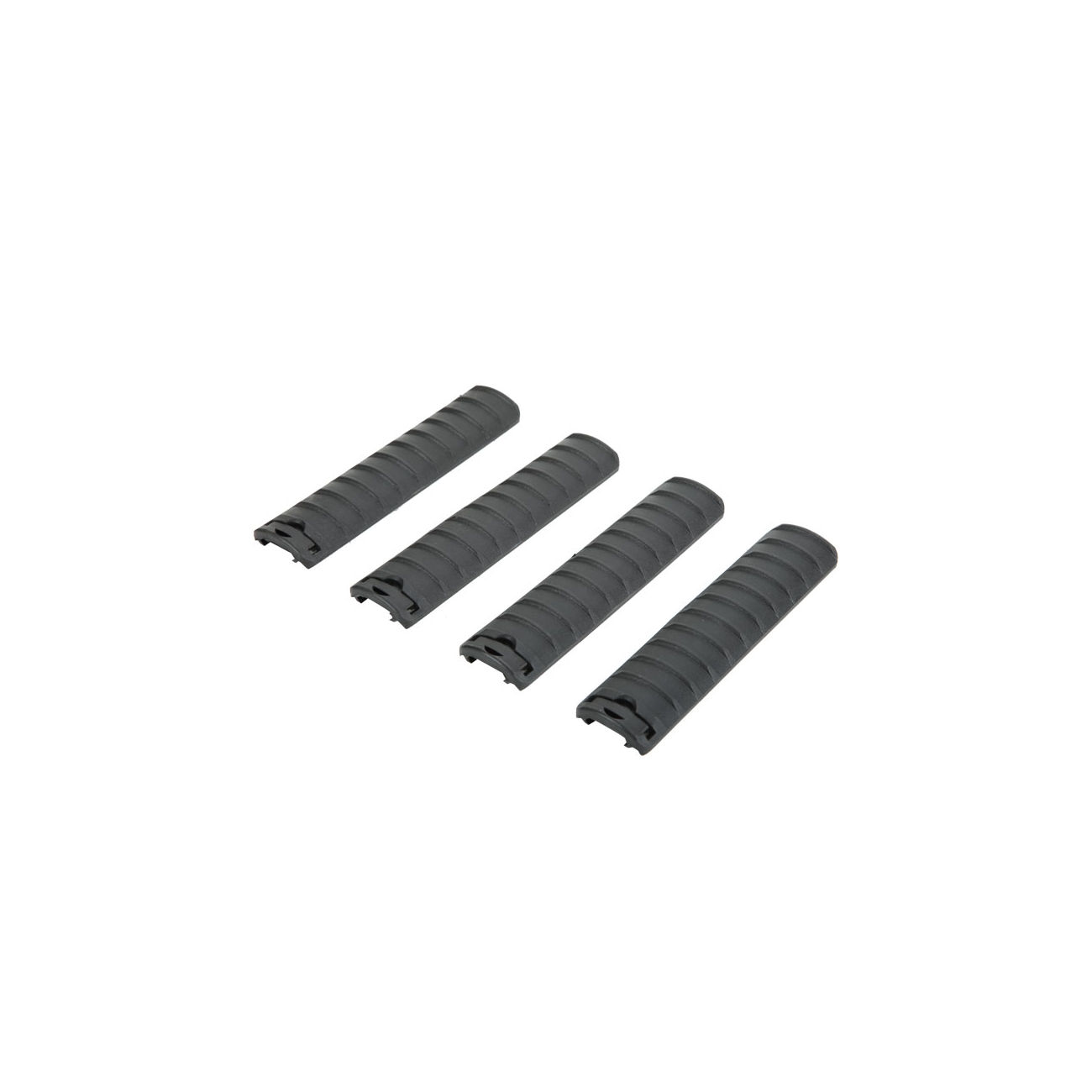 DBoys Rail Covers 158mm 4er Set - schwarz