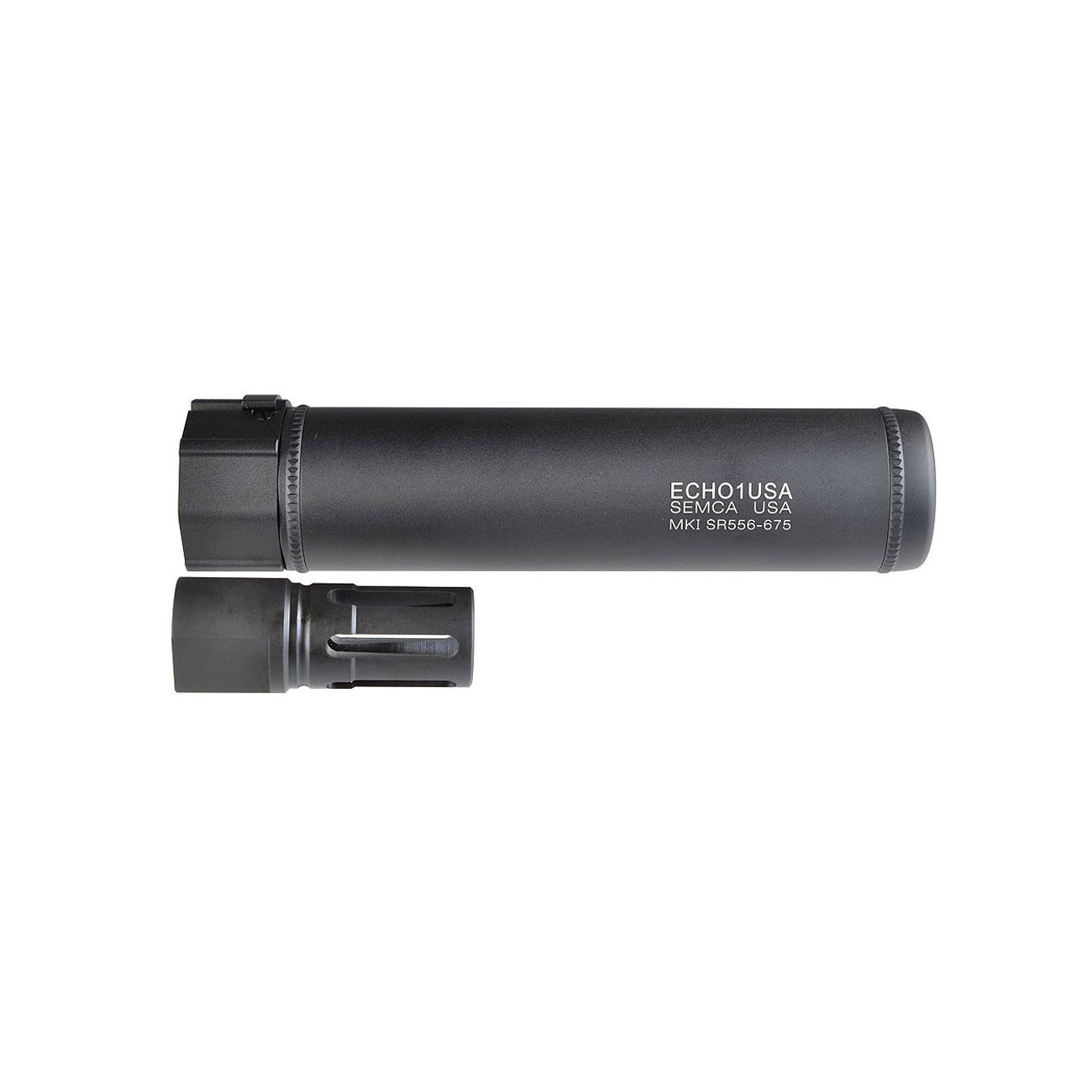 MadBull / Echo1 MK1 SR556-6.75 QD Suppressor schwarz 14mm- 2