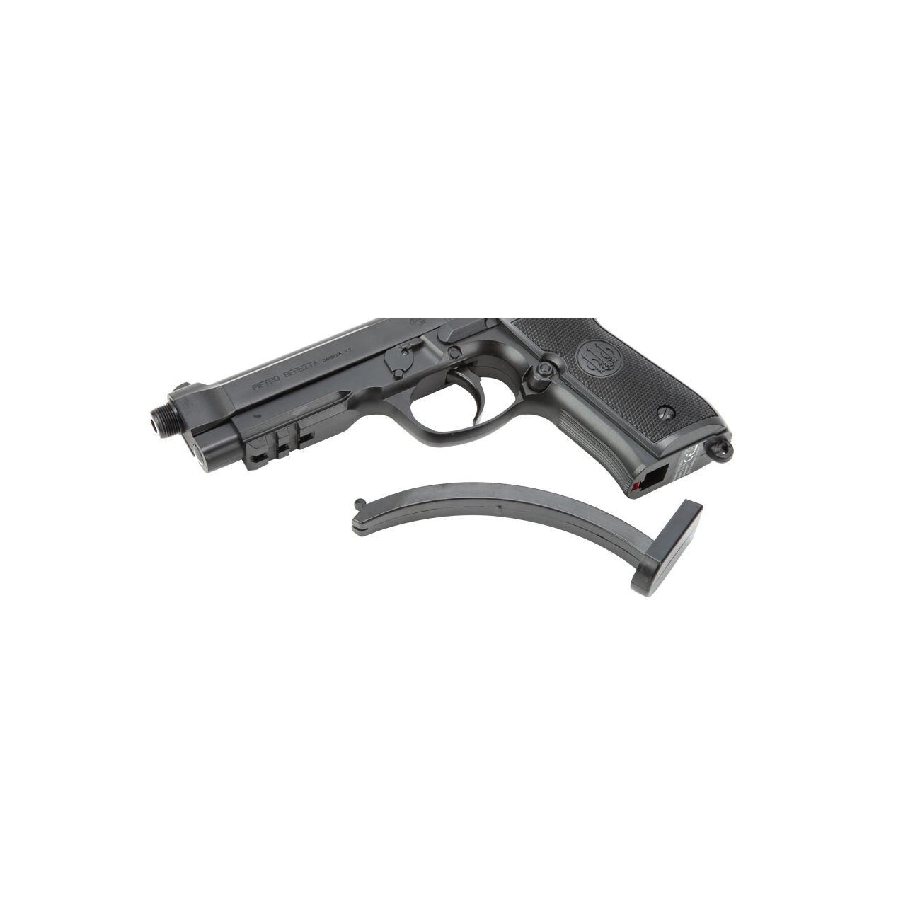 Umarex Beretta M92 A1 Tactical Metallschlitten Komplettset AEP 6mm BB  schwarz