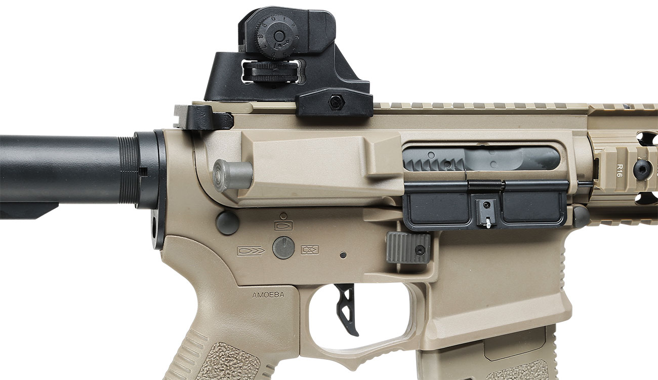 Ares Amoeba M4 CG-002 EFC-System S-AEG 6mm BB Dark Earth 8