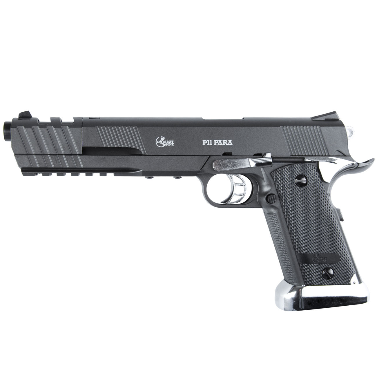 Combat Zone P11 Para CO2 NBB 6mm BB grau / chrom 1