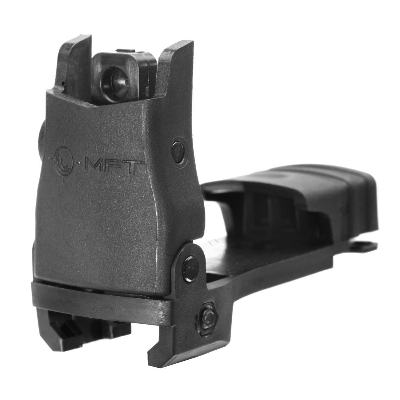 MFT BUPSWR Polymer Flip-Up Rear Sight f. 21mm Schienen schwarz 0