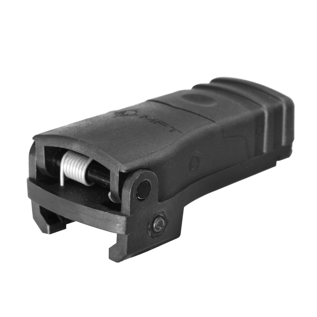 MFT BUPSWR Polymer Flip-Up Rear Sight f. 21mm Schienen schwarz 2