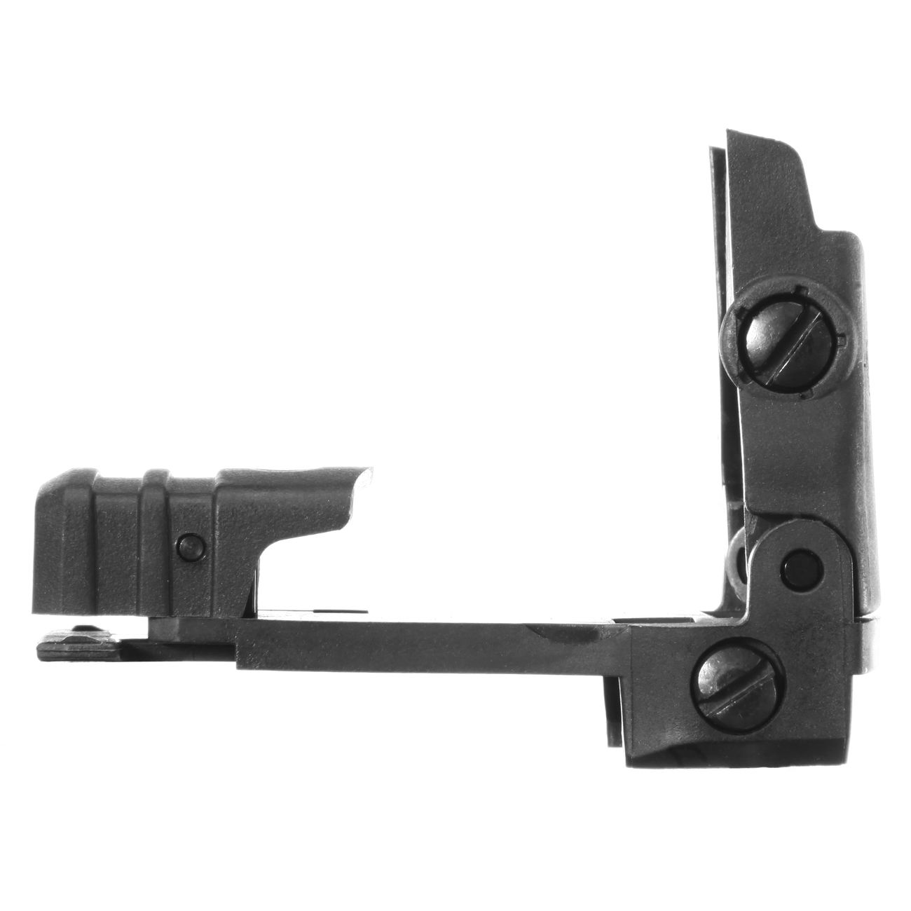 MFT BUPSWR Polymer Flip-Up Rear Sight f. 21mm Schienen schwarz 3