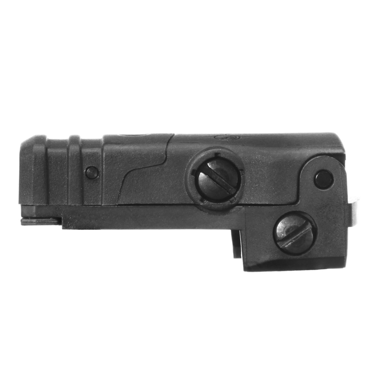 MFT BUPSWR Polymer Flip-Up Rear Sight f. 21mm Schienen schwarz 4