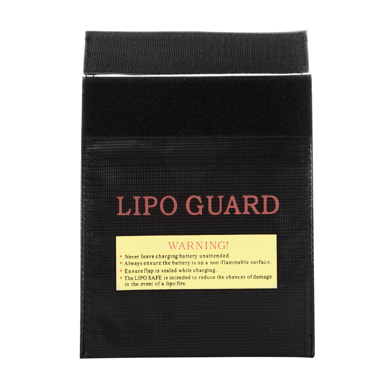 101 INC. LiPo Safe Bag 18x22cm schwarz 1
