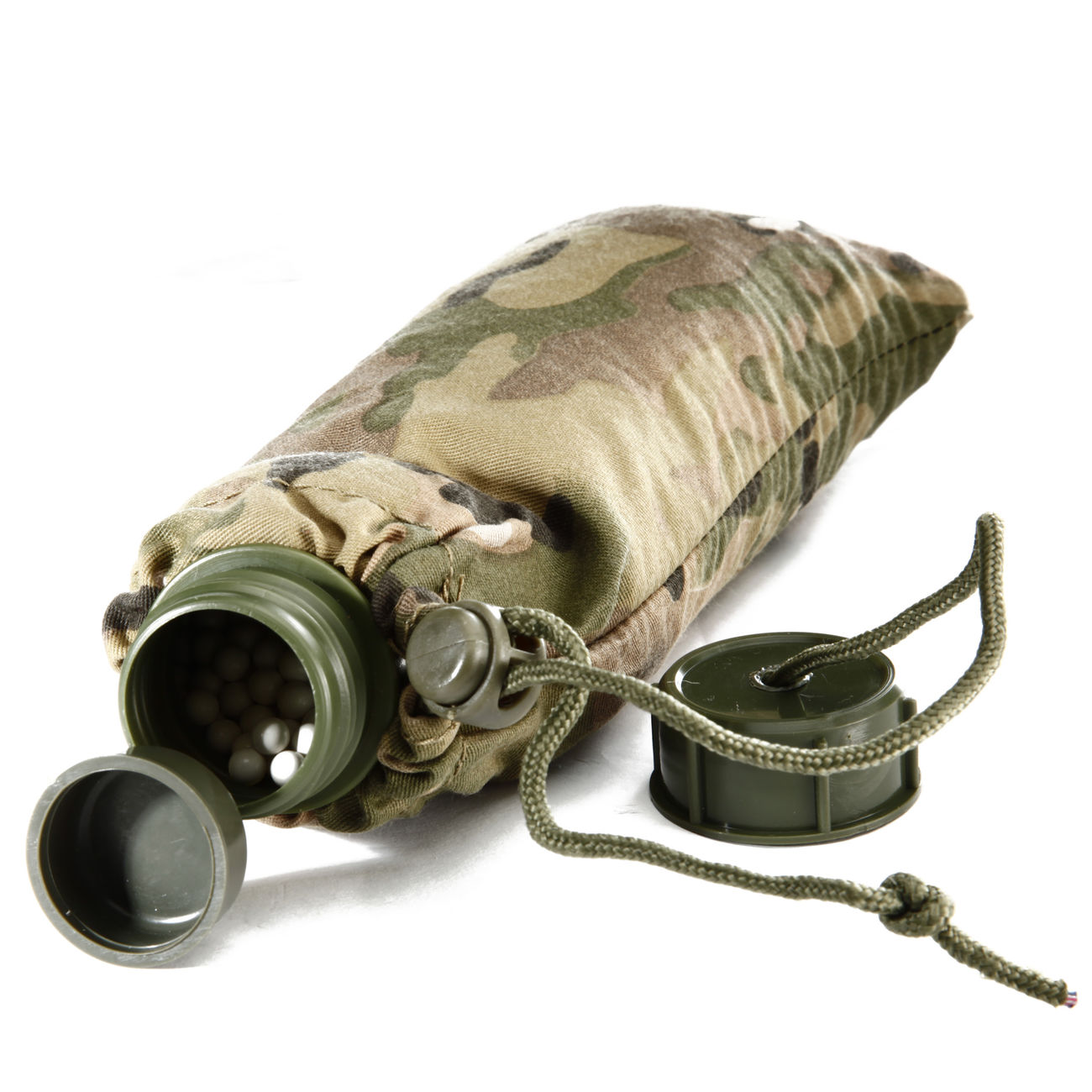 Phantom BB Feed Bag Kugelbeutel für 3000 6mm BBs MC Camo 0