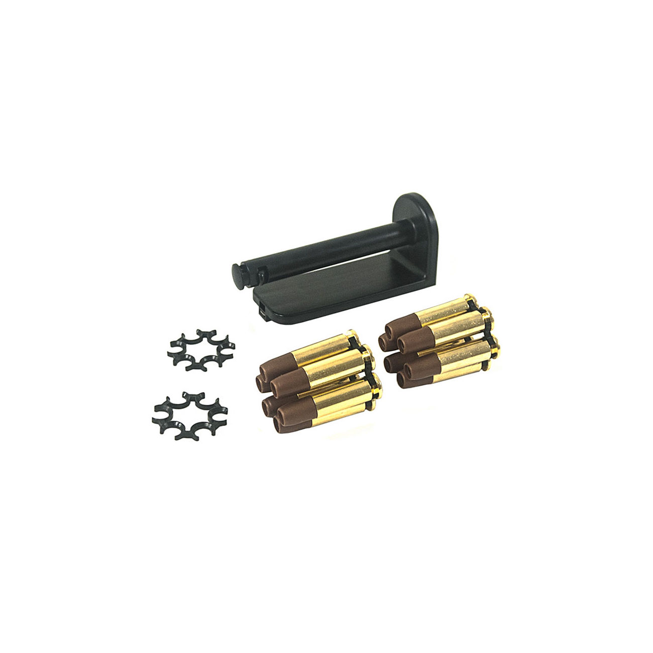 ASG Dan Wesson Moon Clip Set mit 12 Ersatzhülsen - 6mm BB Airsoft Version 0