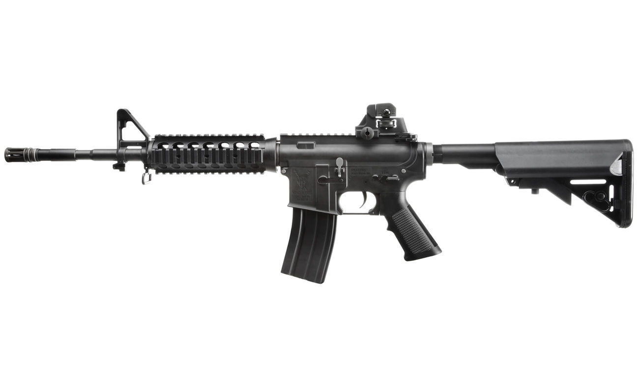 King Arms M4 RIS Sopmod Carbine Ultra Grade S-AEG 6mm BB schwarz 1