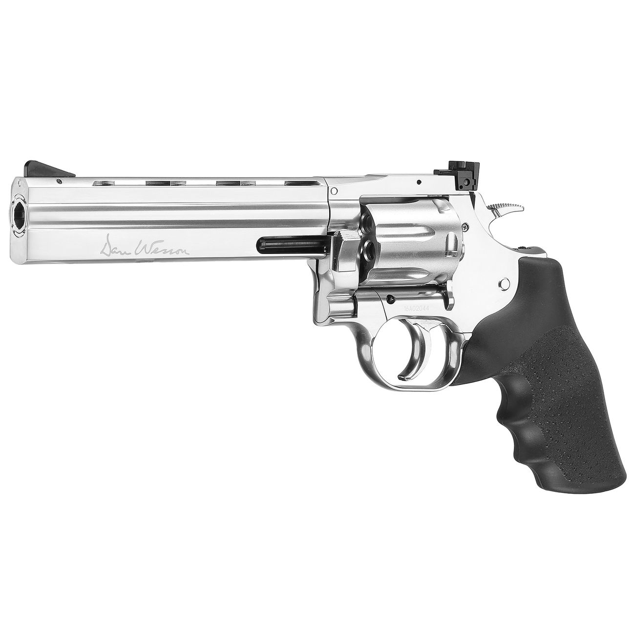 ASG Dan Wesson 715 6 Zoll Revolver Vollmetall CO2 6mm BB chrom Low Power Version 0