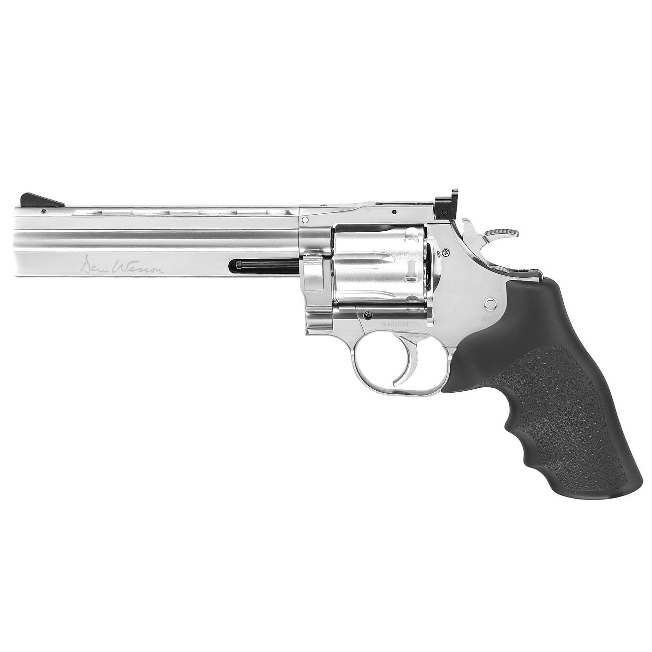 ASG Dan Wesson 715 6 Zoll Revolver Vollmetall CO2 6mm BB chrom Low Power Version 1