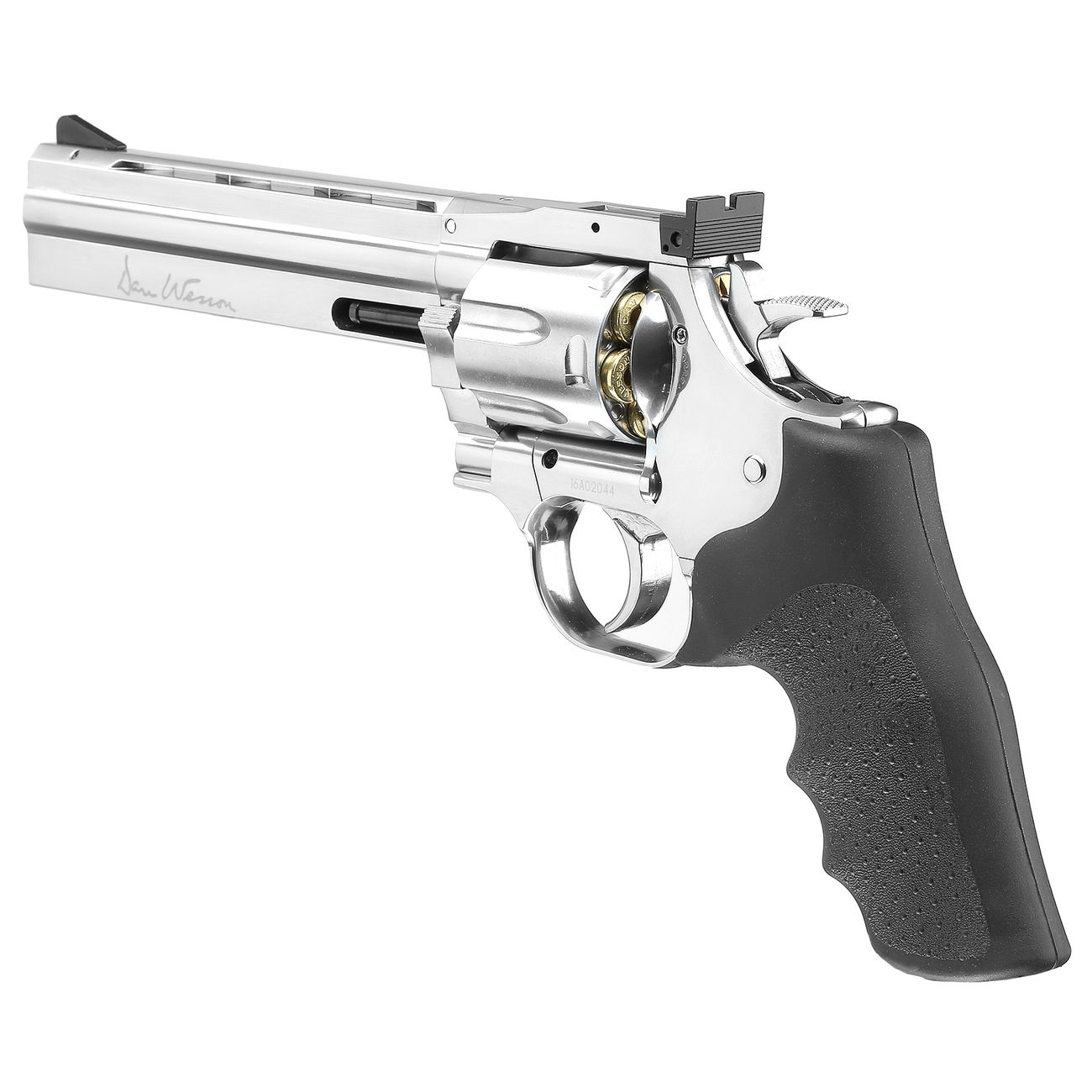 ASG Dan Wesson 715 6 Zoll Revolver Vollmetall CO2 6mm BB chrom Low Power Version 3