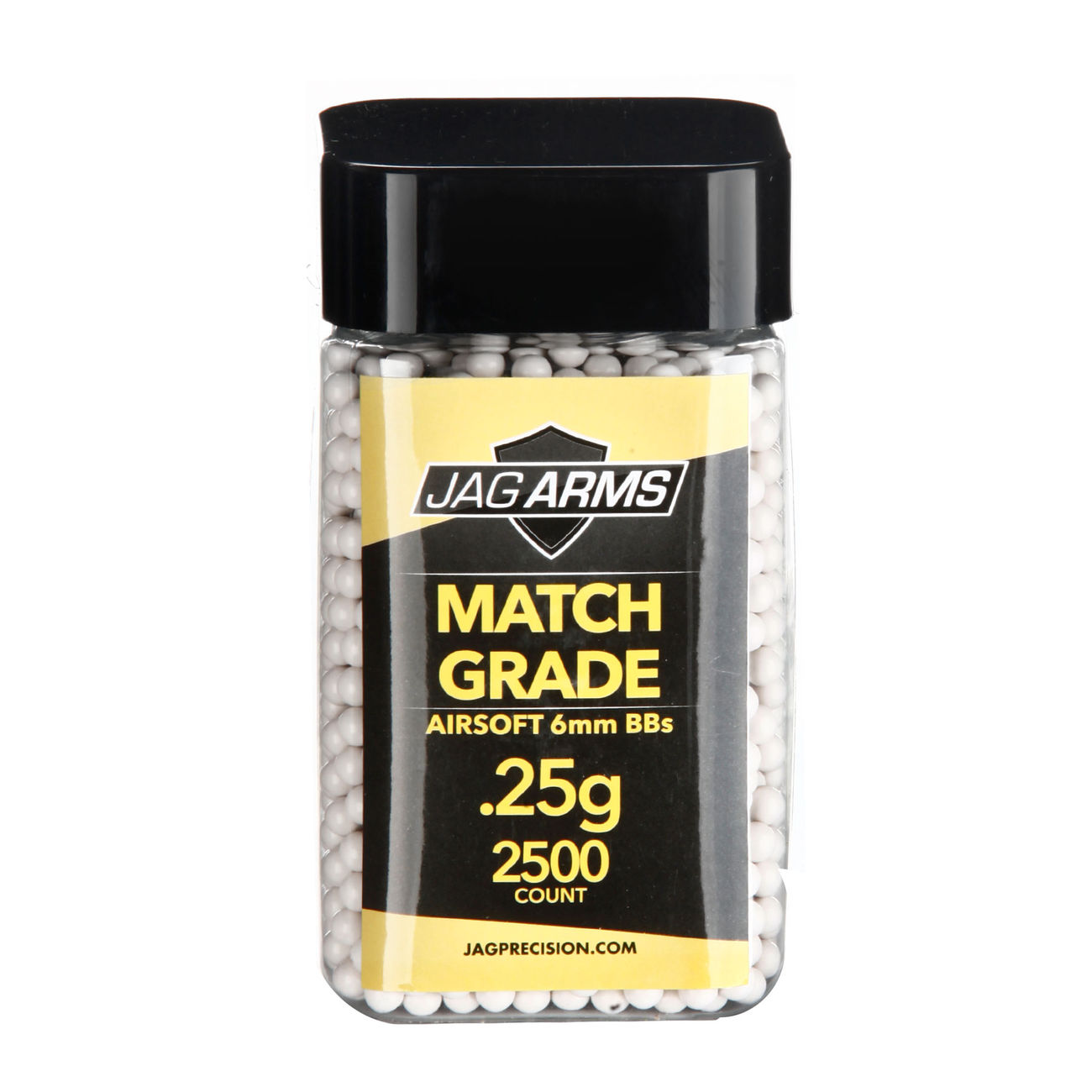 Jag Arms Match Grade Series BBs 0,25g 2.500er Container weiss 0