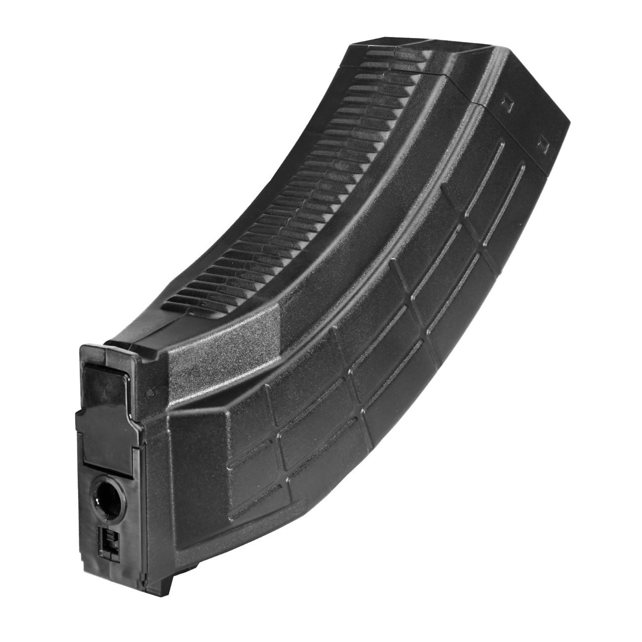 Evolution Airsoft AK Magazin FAT Flash-Mag High-Cap 1000 Schuss schwarz 0