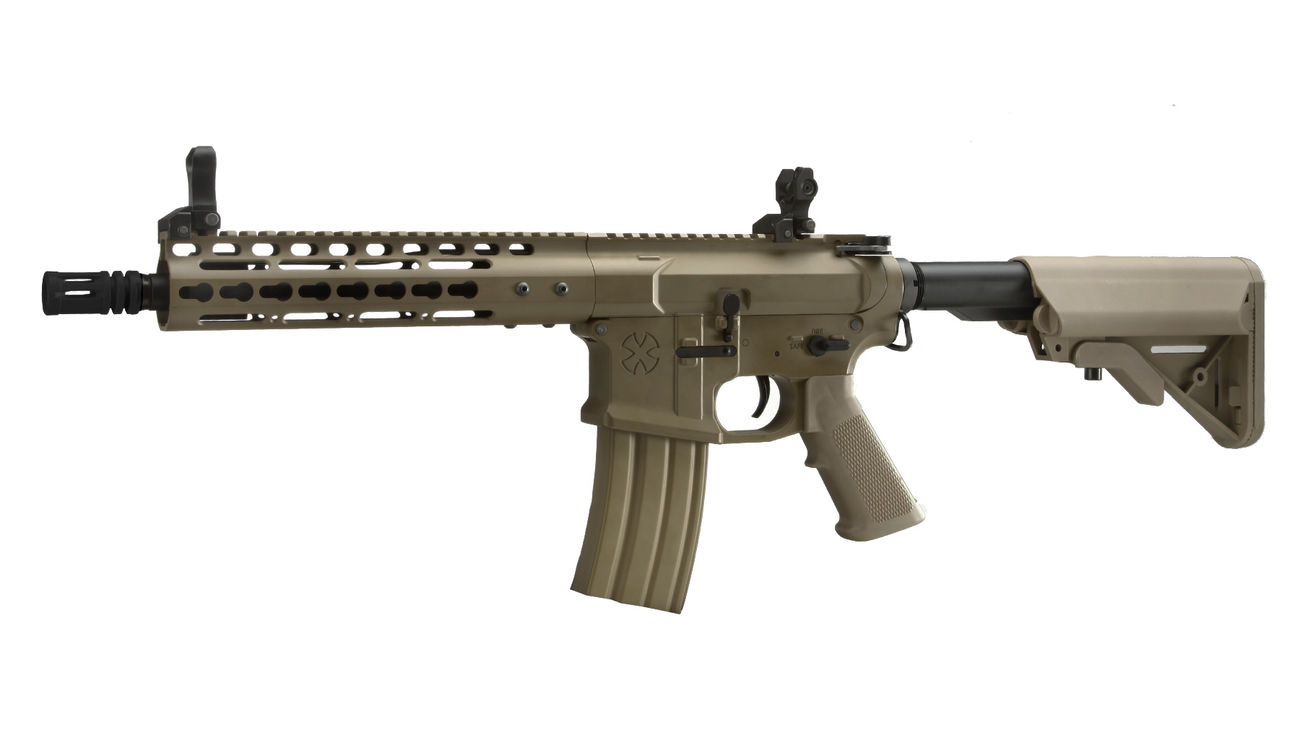 Socom Gear Noveske N4 Gen. III NSR9 10.5 Zoll Vollmetall S-AEG 6mm BB Dark Earth Tan 0