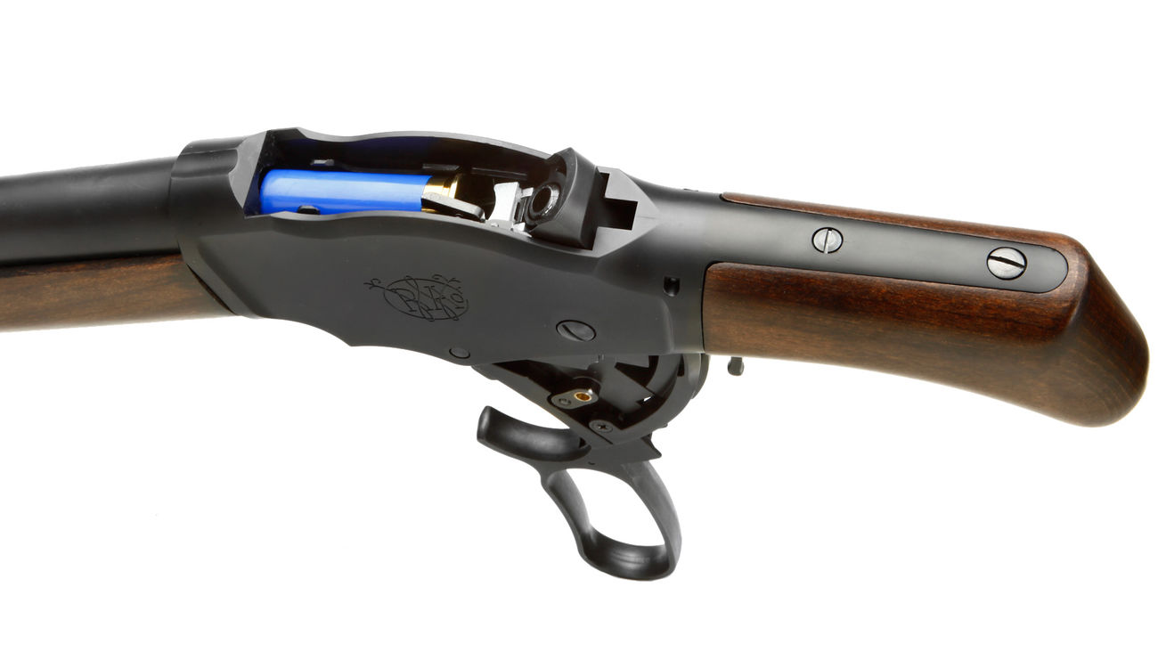Marushin M1887 T2 Maxi8 Gas Lever Action mit Hülsenauswurf 8mm BB - Echtholz 4