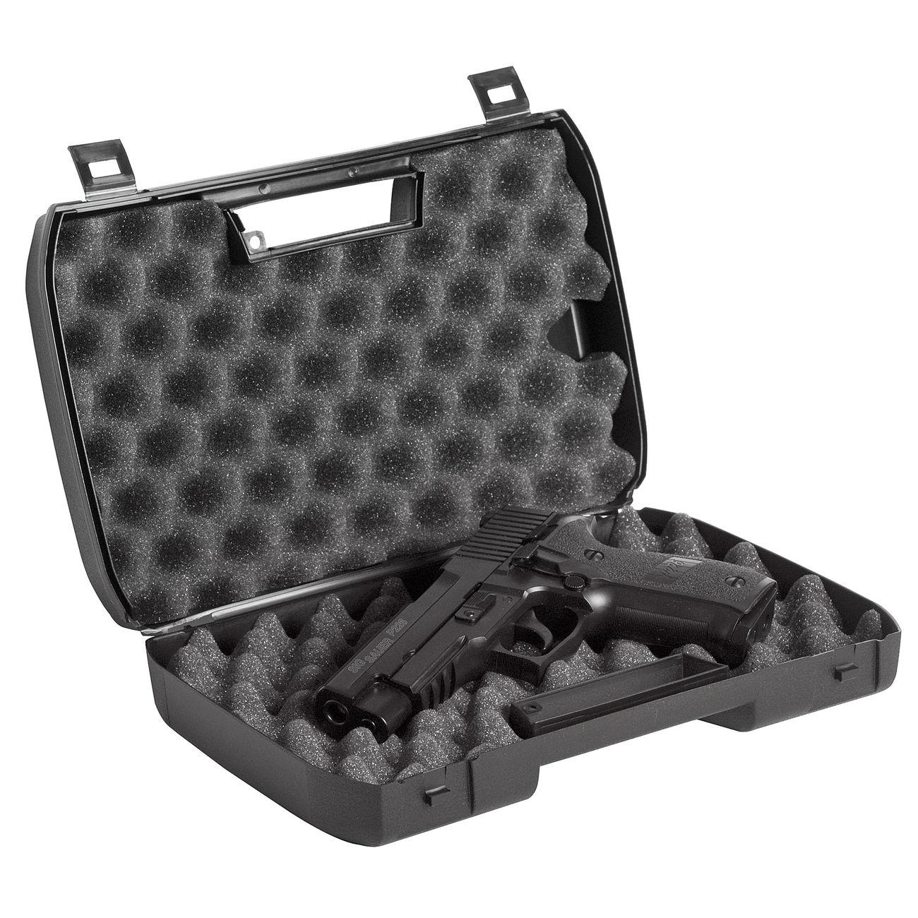 LxHxT g8ds Pistolenkoffer Waffenkoffer Small schlagfester Kunststoff mit Schaumstoffeinlage 23,0 x 15,0 x 6,0 cm