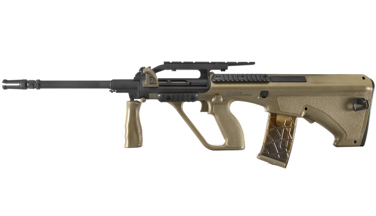 ASG Steyr Mannlicher AUG A2 Enhanced Proline S-AEG 6mm BB Tan 1