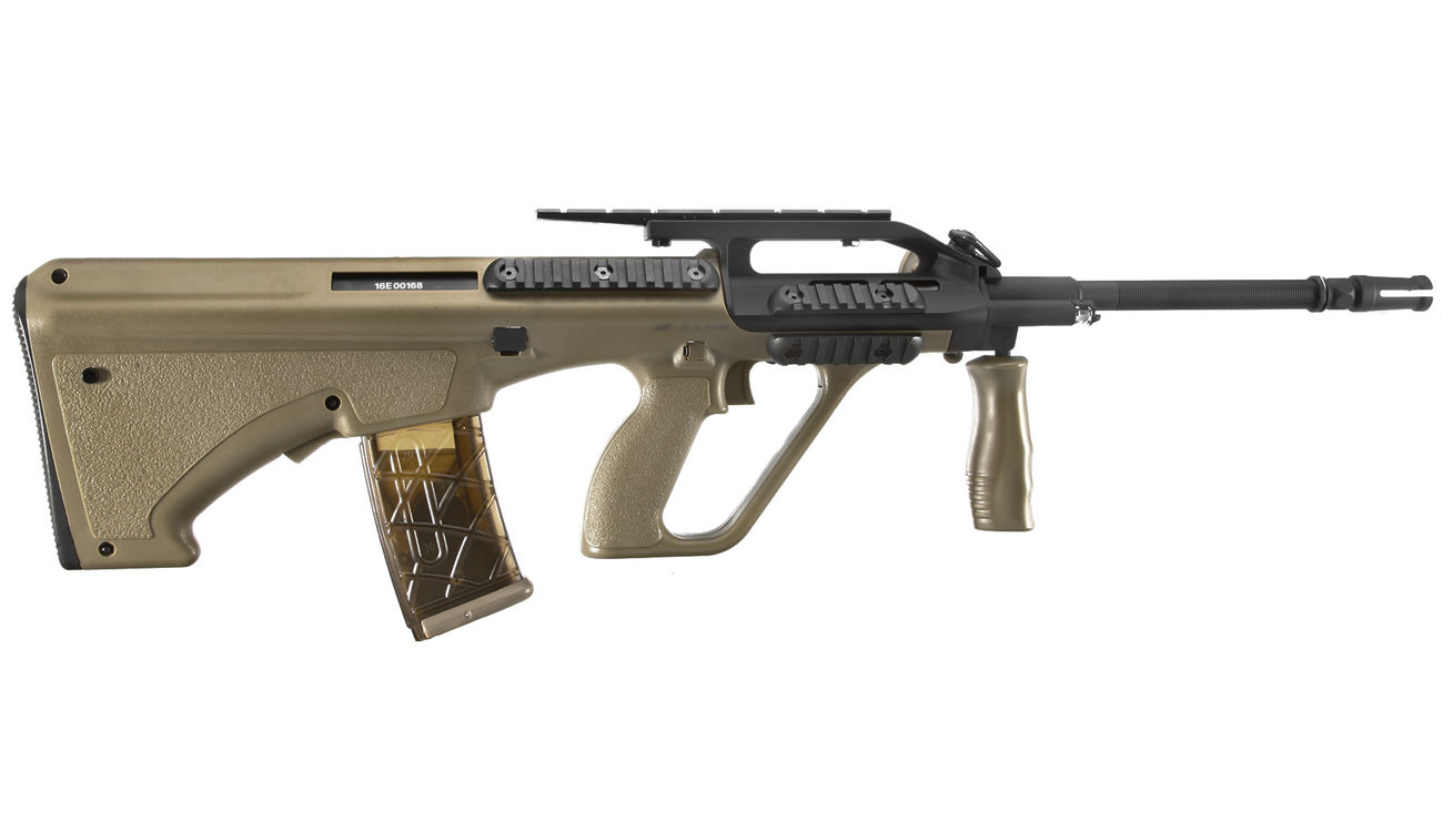 ASG Steyr Mannlicher AUG A2 Enhanced Proline S-AEG 6mm BB Tan 2