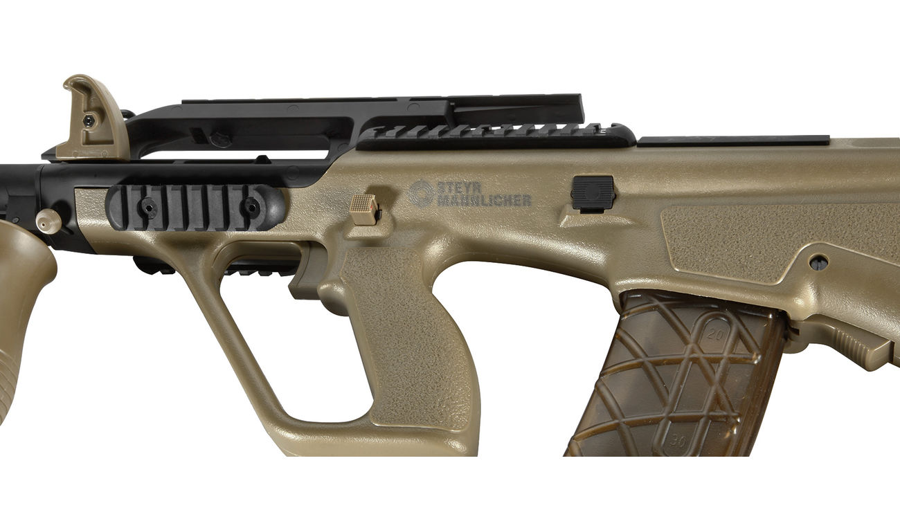 ASG Steyr Mannlicher AUG A2 Enhanced Proline S-AEG 6mm BB Tan 4