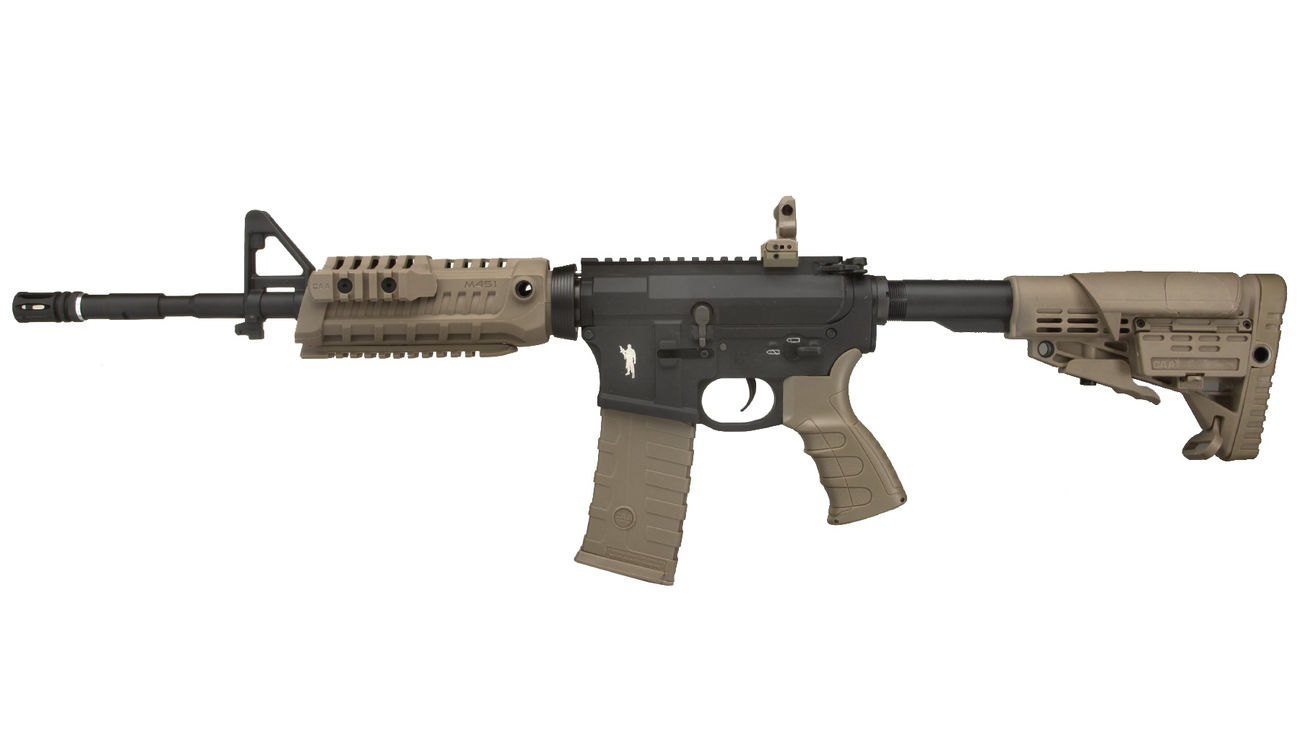 CAA Airsoft Division M4 Carbine Vollmetall S-AEG 6mm BB Dark Earth 1