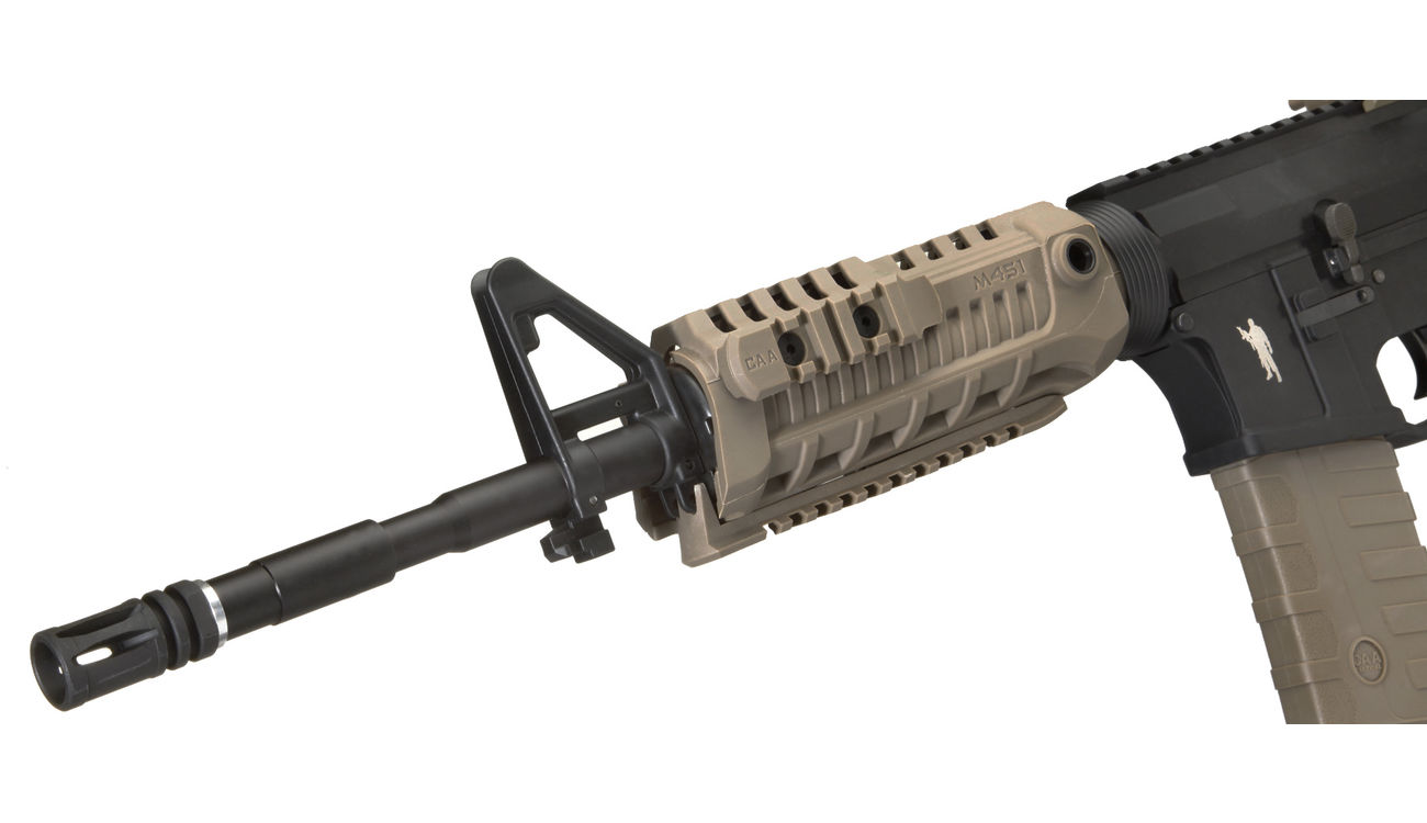 CAA Airsoft Division M4 Carbine Vollmetall S-AEG 6mm BB Dark Earth 5