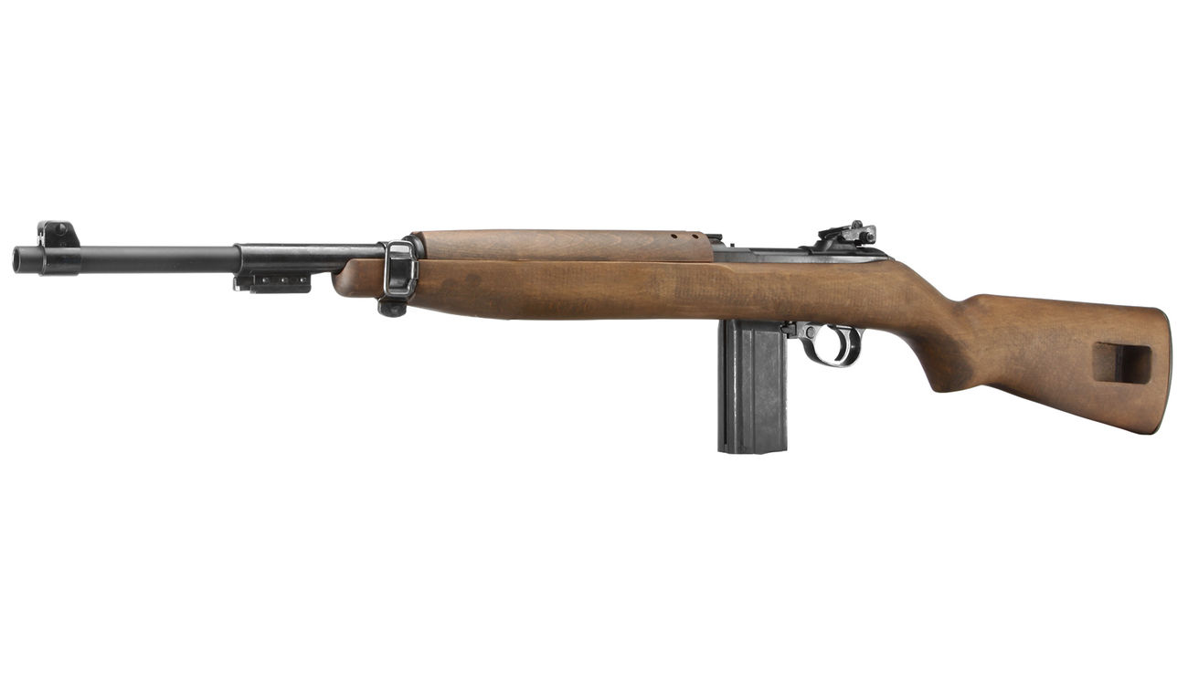 King Arms M1 Carbine Vollmetall Echtholz CO2 BlowBack 6mm BB 0